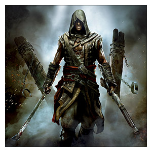 Assassin's Creed. Размер: 60 х 60 см